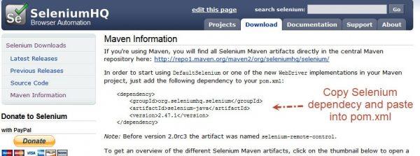 selenium_maven_conf