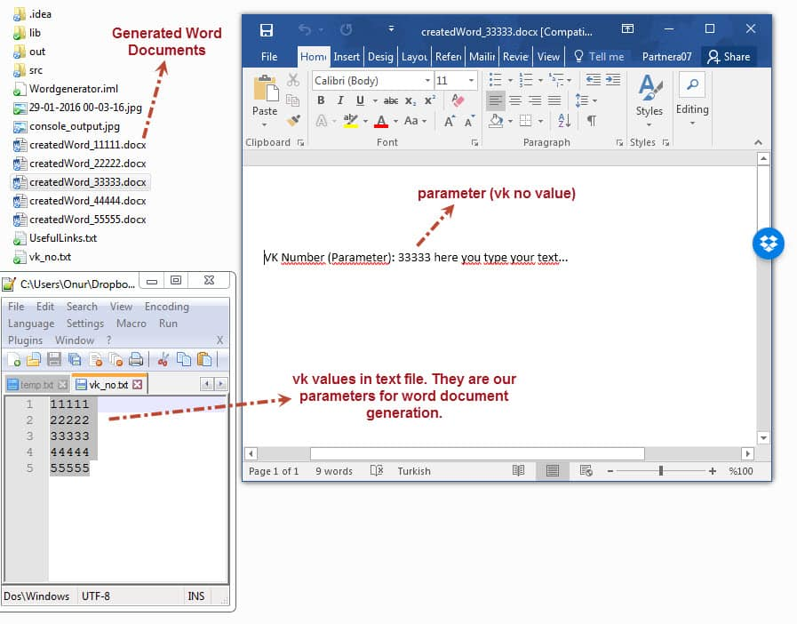 How to create a word document with java for Java word documents