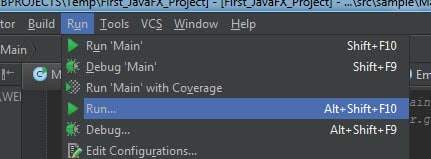 Database Operations in JavaFX