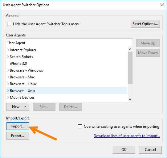 How to Change User Agent In Selenium Webdriver