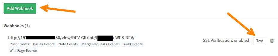Jenkins GitLab Integration