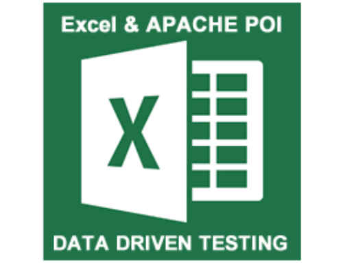 Data Driven Testing with Excel in Selenium