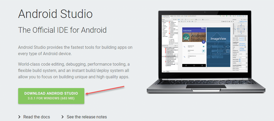 android studio chip