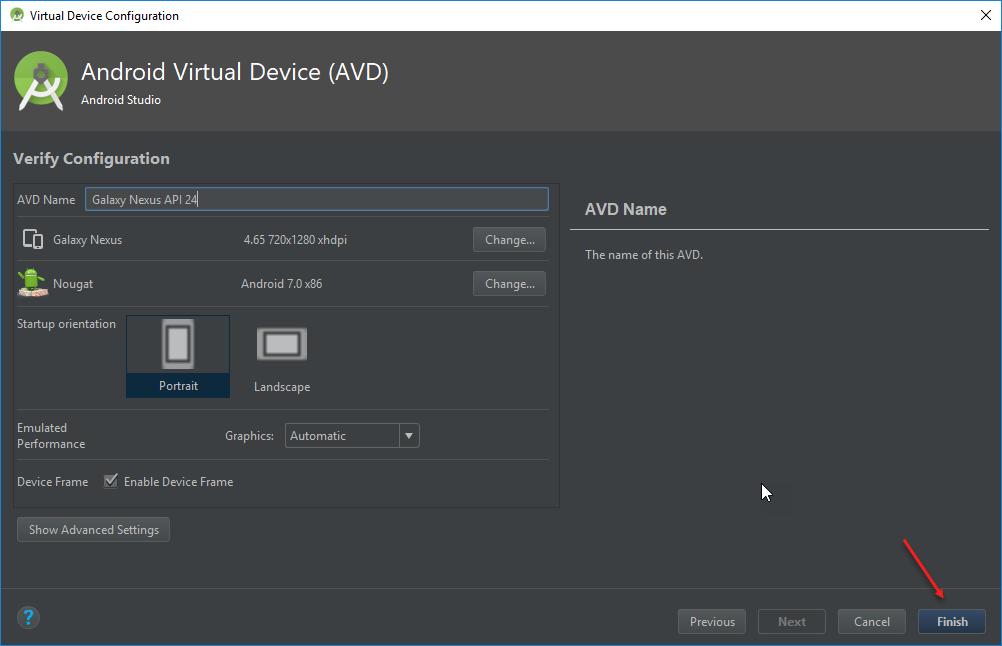 virtual-device-appium