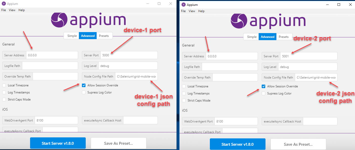 Appium Parallel Testing | Wireless Mobile Device Farm