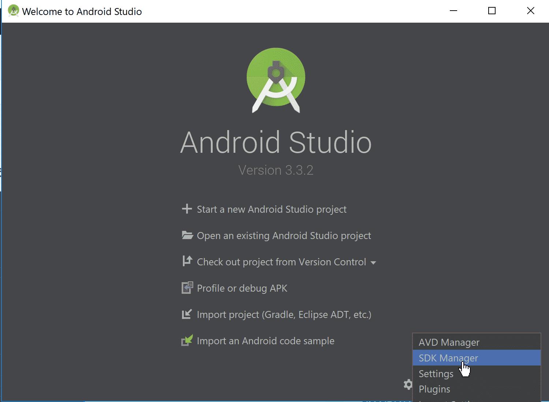 android studio run release apk