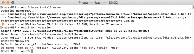 maven-installation-on-macos